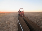 trenching-power-to-irrigation-well